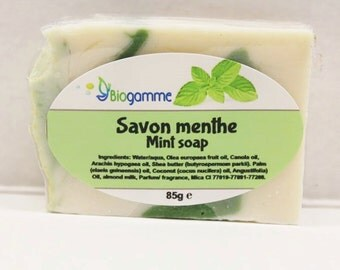 Vegan Minth Sweet and Creamy Soap / SOAP vegan soft and creamy Mint