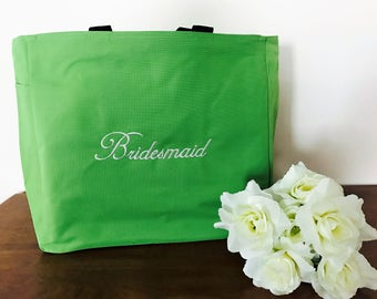 Bridesmaid tote bags,  Wedding Bag. Wedding Tote. Bridal Shower Gift. Bridal Bag.  Wedding Anniversary Tote, Bridal Party Tote,