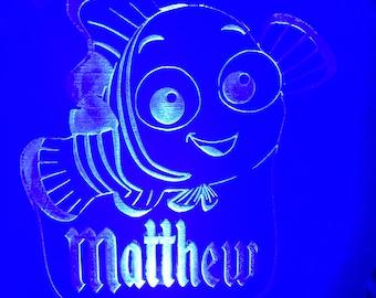 Finding Nemo Custom Night Light
