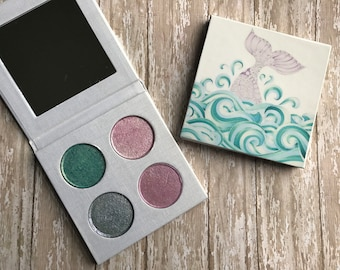 Mineral eyeshadow mermaid palette