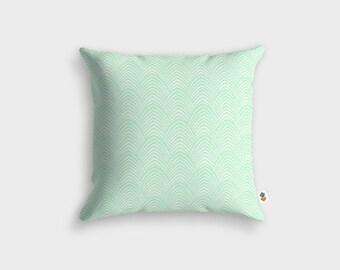 Retro-vintage ALEN GREEN cushion