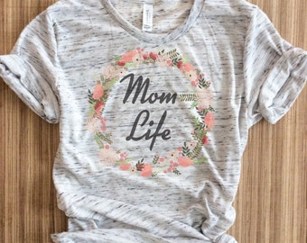 Mom life shirt, mama bear shirt, pregnancy announcement shirt, mom life, pregnant shirt, mom life is the best life,