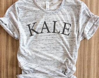 Kale-,Kale tshirt, Kale shirt, Vegan Shirt, Vegetarian Shirt,Kale Tee, Funny Vegan, Vegetarian, Kale Top,