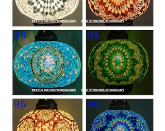 Customize It Your Own , Choose Any Color or Pattern For Your lamp.
