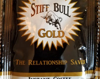 Stiff Bull Gold Coffee 10 Packs