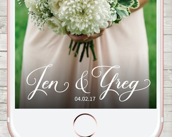 Snapchat Wedding Geofilter, Snapchat Geofilter Wedding, Custom Snapchat Filter, Wedding Snapchat geofilter, Personalized Filter