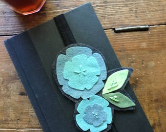 Wool Felt Flower Bookmark