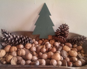 Primitive Christmas Tree Wood Cutout