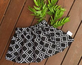 ON SALE - Girls skirt - baby girls skirt - baby skirt - elastic waist skirt - skirts - baby skirt - short skirt - CLEARANCE