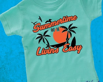 Sublime Summer Shirt - Beach Vacation Tee - Sublime Summertime - Beach Baby Tshirt - Baby Shower Gift - Kids Shirt - Infant