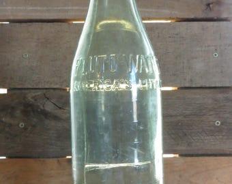 Pluto Water Bottle, Vintage, Green