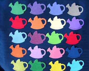 Sizzix die-cuts of watering cans x 20