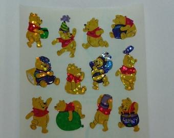 Sandylion Stickers Glittery Mini Winnie the Pooh  (1 mod)