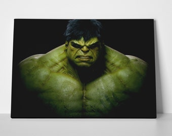 Incredible Hulk Limited Edition 24x36 Poster | Incredible Hulk Canvas