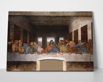 The Last Supper Poster or Canvas by Leonardo da Vinci | Last Supper Poster or Canvas