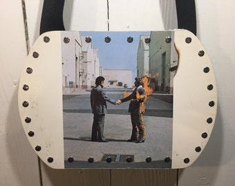 Pink Floyd - Wish you were here vinyl record purse