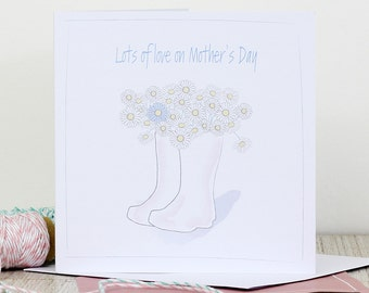Mother's Day card - Lots of love on Mother's Day