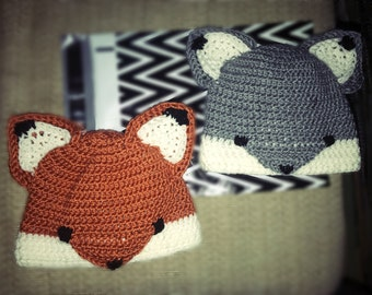 Foxy Loxy - Toddler Hat
