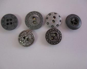 Metal Button Push Pins