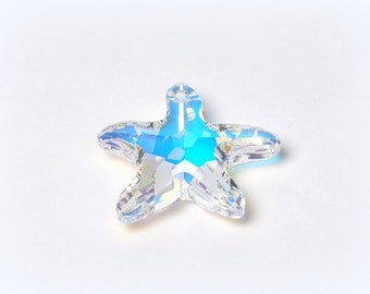 Swarovski Starfish, 1pcs