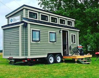 Tiny House Building Plan (THOW - Model Two)