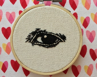 """Eye 3"""" Made to Order Embroidery"""