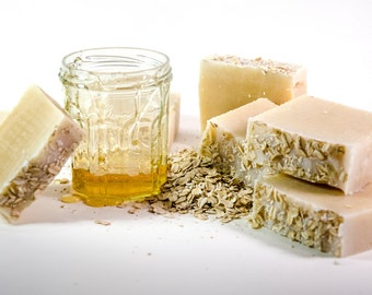 Goldilocks - Oatmeal Honey Soap with Olive & Coconut Oil