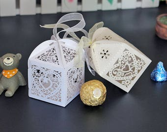 Wedding/Party Favor Candy Boxes Chair Place Card Holder and Favor Box Best for Candy Boxes and Wedding Favors Box Event Party