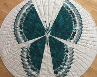 Unique Butterfly Quilt Decor