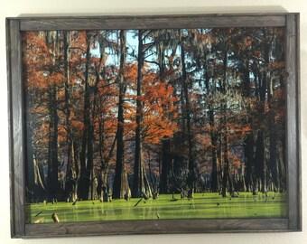 Wood Picture Frame, Large Photo Frame, Poster Frame, Map Frame