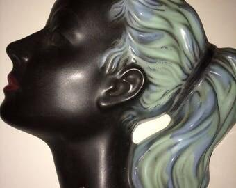 CORTENDORFF  vintage 50's wand mask girl pony tail