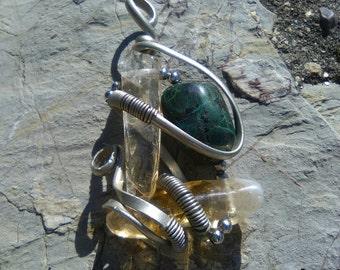 Pendant fantasy minerals