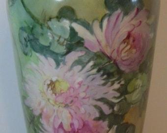 Brilliant Large Jean Pouyat Limoges Vase