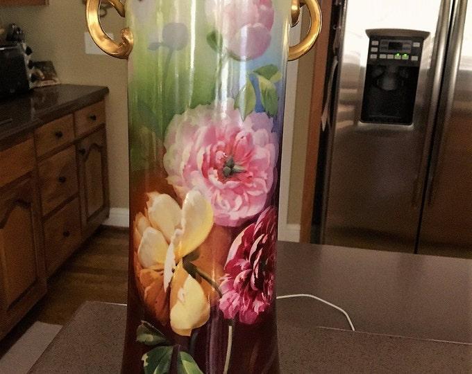Outstanding Antique Wm Guerin Limoges Vase
