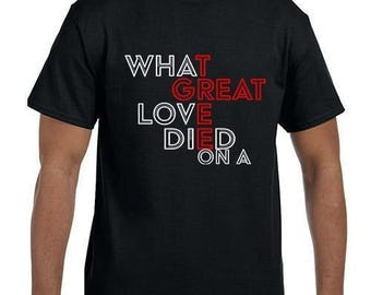 What great love died on a cross T-Shirt model xx000092mxx