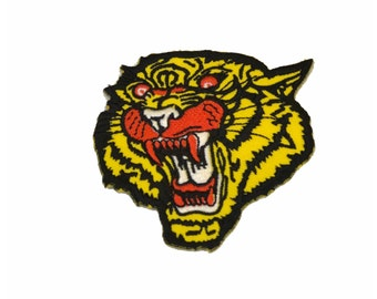 Tiger iron patch,embroidery,iron on,DIY,handmade,High Quality