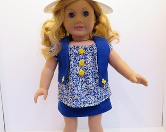"Doll Clothes for American Girl Dolls & Other 18"" Dolls"