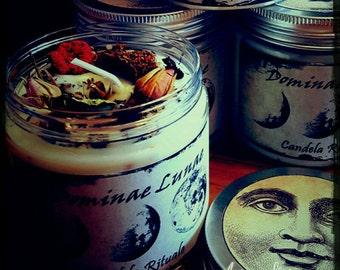 Dominate Lunae-Ritual candle