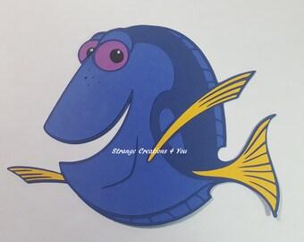 Pixar Dory Die Cut, paper piecing