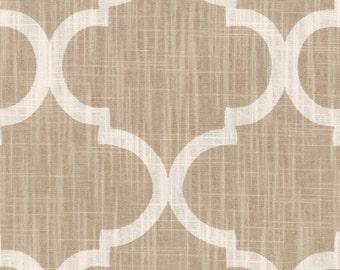 Premium Fabric- Beige and Cream Curtains
