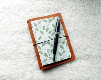 Sheepskin Traveler's Notebook with Insert