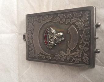 Moose Lodge notepad holder