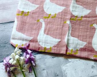 Certified Organic Cotton Baby Muslin 'Burp Cloth'