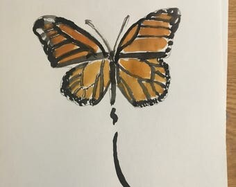 1820s Japanese Style Butterfly