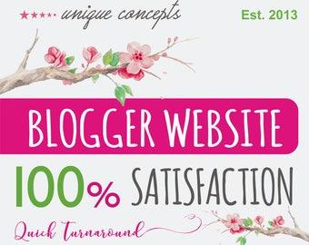 Blogging Website Design, Custom Website Design, Website Design, Blog Website, Professional Website, Creative Website, Food Blog