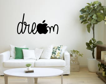Dream Wall Decor dream wall decal | etsy