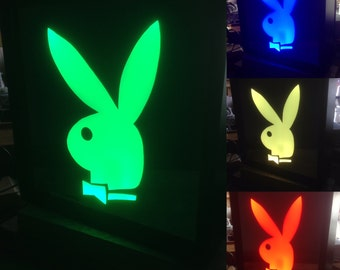 Playboy Color Changing LED lit mirror