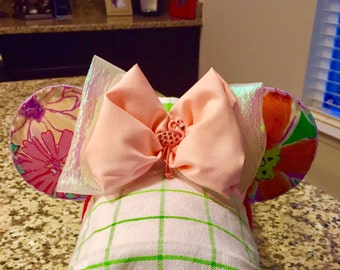Lilly Pulitzer inspired Mickey Ears