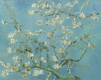 Cherry Blossom Painting, Cherry Blossom Art, Van Gogh Gifts, Almond Tree Painting, – Van Gogh Painting Museum Quality Reproduction