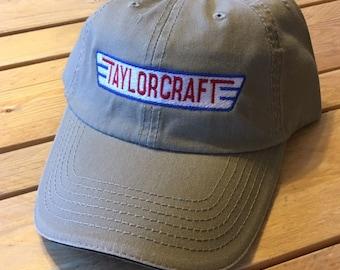 Vintage TAYLORCRAFT logo cap  FREE SHIPPING
